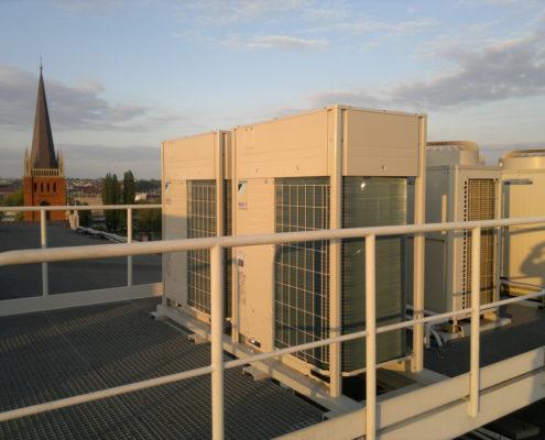 Klimatyzatory na dachu 2